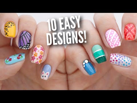 10 Easy Nail Art Designs For Beginners The Ultimate Guide 5 Nail
